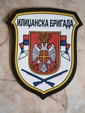 ILIDZA BRIGADE PATCH ARMY EMBLEM BOSNIA SERBIA MILITARY corps VRS