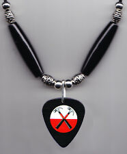 Pink Floyd The Wall Hammers Guitar Pick Necklace