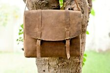 Men Genuine Leather Handbag Messenger Bag Casual Shoulder Crossbody Tote Bag NEW