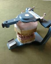 Vintage Hanau denture fixture. Casting teeth. Tool. Oddity. Display Steampunk?