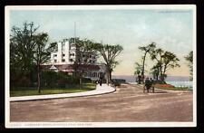 c1908 Claremont Hotel Riverside Drive New York city postcard