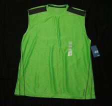 Reebok Lime Green Sleeveless T-Shirt Mens XXL