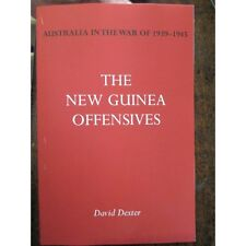 New Guinea Offensives - Australian AWM Official History WW2 NEW BOOK