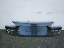 nn80297 Lexus HS200h 2010 2011 2012 Rear Trunk Lid Licence Plate Panel Moulding