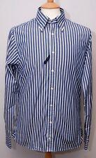 "Tommy Hilfiger long sleeve slim fit button down cotton striped shirt S 38"" 97cm"