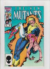 New Mutants #42 NM- 9.2 Marvel Comics 1986 BWS Cover Cannonball X-Men