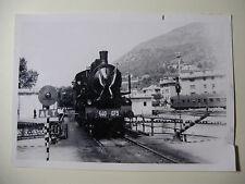 IT553 - 1971 FS ITALIA - ITALIAN RAILWAY - STEAM TRAIN No640-073 PHOTO Italy