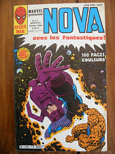 Semic MARVEL DC Comics FRANCE Spiderman BD LUG Super Heros NOVA n°73 Fev 1984