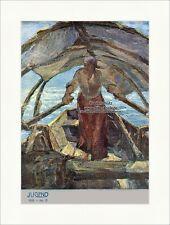 Pagina del titolo il numero 13 di 1905 Alfeo Argentieri barca a remi mare gioventù 3480
