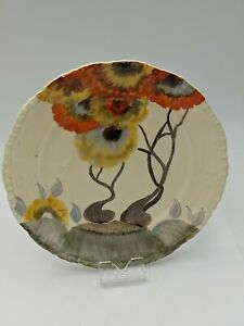 Clarice Cliff Art Deco Rhodanthe Pattern 6 inch Side Plate C1934