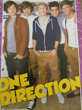 One Direction, Harry Styles, Double Full Page Pinup