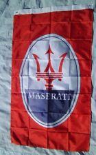 New listing Maserati Flag 3' X 5 Banner Indoor / Outdoor Racing Flag