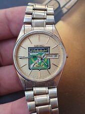 Special Seiko Quartz Vintage Mens Watch For Al Arabi Sports Club Kuwait