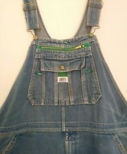 Men's Vintage Liberty Blue Denim Dungarees Size W 38 40 42 L 30 Workwear Overall