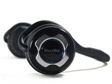 SoundBot SB220 Bluetooth 4.0 Noise-Reduction Stereo Headphones + Mic Chrome