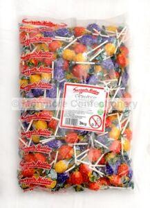 Swizzels Fruity Pops Lollies Full 3kg Bag Fruit Flavoured Lollipops