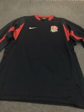 New listing Mens Navy Blue England Rugby Union Long Sleeve Dri-Fit Top XL