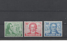 ALLEMAGNE.BERLIN 1949 TIMBRES NEUF**200e ANNI.DE LA NAI:DE GOETHE Y&T N° 51au53