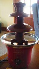 Nostalgia Electrics CFF700 Capacity Cascading 3 tier Chocolate Fondue Fountain