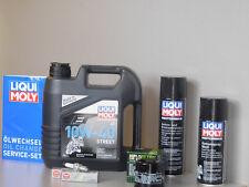 Sistema de Mantenimiento Honda Xl 1000 Varadero filtro de aceite bujía Servicio