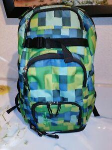 Rucksack School Bag Mädchen grün Sporttasche