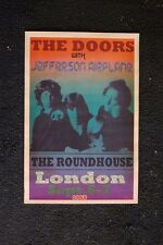 The Doors 1968 Poster Roundhouse London