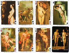 CARTE DA GIOCO FOURNIER - THE NUDE IN ART - EROTIC PLAYING CARDS