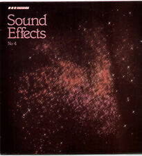 BBC SOUND EFFECTS No.4~UK 15-TRACK MONO LP RECORD~BBC RED 104M [70s RE-ISSUE]