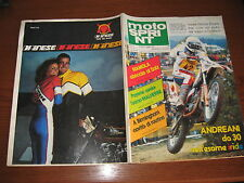 MOTOSPRINT 1981/18 PROVA MAICO 490 GS RAY AMM PUBBLICITA' DAINESE