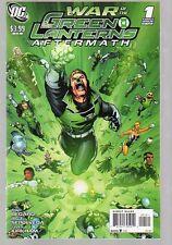 WAR OF THE GREEN LANTERNS AFTERMATH #1&2 NM COMPLETE SET 2011 GUY GARDNER COVER