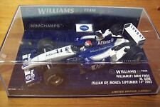 1/43 Williams 2003 BMW FW25 Marc Gene GP Italia