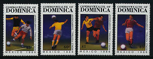 Dominica 935-8 MNH Sports, World Cup Soccer, Football