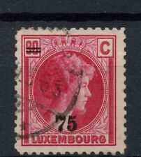 Luxembourg 1927-35 SG#278b 75 On 90c Used #A72238