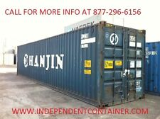 40' Cargo Container  / Shipping Container /  Container in CHICAGO, ILLINOIS