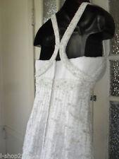Beading Regular Size Sleeveless Wedding Dresses