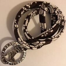 Retired Rare Vera Bradley Lanyard Clip & Key Ring Imperial Toile Excellent