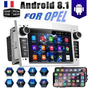 """7"""" Autoradio GPS Navi BT Touchscreen Pour Opel Meriva Antara Astra Vectra Corsa"""