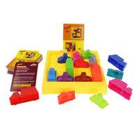 Puzzle Automobile Race Car Puzzle Board Games Multicolor Exercise Logical