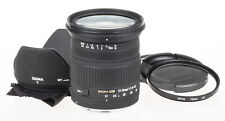 Sigma 17-70mm f/2.8-4.5 DC MACRO lens for Canon +UV, hood | excellent condition