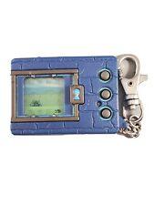 🎮 1997 Digimon Digital Monster Ver.1 Blue Virtual Pet Tamagotchi Bandai