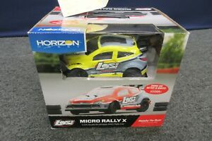 Horizon Hobby Losi 4WD Micro Rally X RTR Yellow 1/24 Scale Electric Car NEW