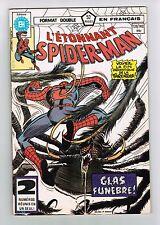 FRENCH COMIC FRANÇAIS EDITION HERITAGE QUÉBEC  SPIDER MAN  # 139 / 140 C-2