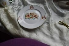 """Stoke on Trent King George V & Queen Mary 8"""" Plate"""