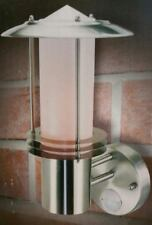 Stainless Steel Security Light With PIR Sensor Time & Dusk Controls