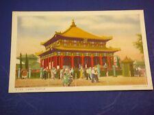 Lama Temple Jehol Chicago's 1934 Int'l Expo Vintage Colorful Postcard PC6