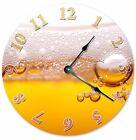 "BEER GLASS Mug of Beer Clock - Large 10.5"" Wall Clock - 2049"