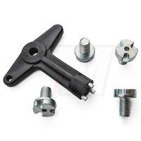 1x Schlüssel felgendeckel naben deckel radkappe mit sicherungschrauben für Opel