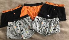 Boys Boxer Shorts Pants Aged 9-10 Years Most New 5 Pairs