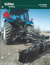 Farm Equipment Brochure - Buhler - Farm King - Rear Blades for Tractor (F3984)