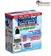 NeilMed Sinus Rinse 60 Sachets kit & 240ml bottle kit